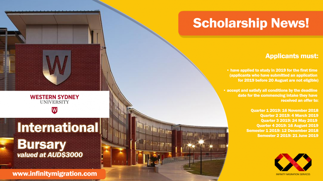 Scholarship News from WSU | Infinity Migration Services
